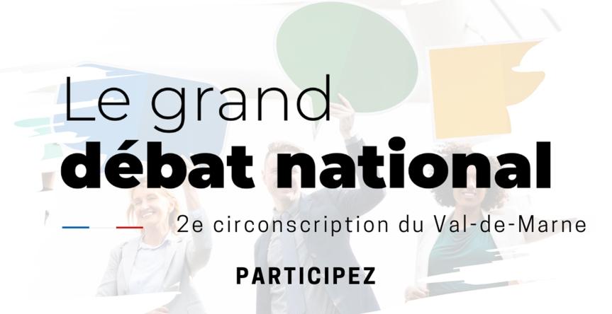 Grand débat national – Rendez-vous le 31 janvier à 19h àCréteil