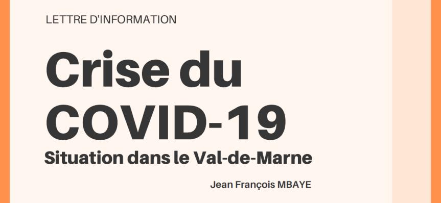 Crise du COVID-19 dans leVal-de-Marne