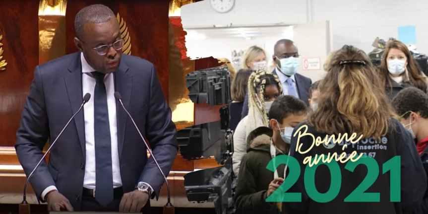 Meilleurs vœux pour l'année 2021!